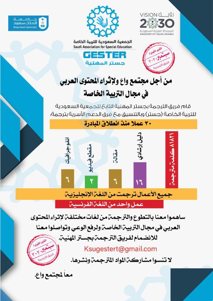 مبادرة إثراء للترجمة تقرير سبتمبر 2020